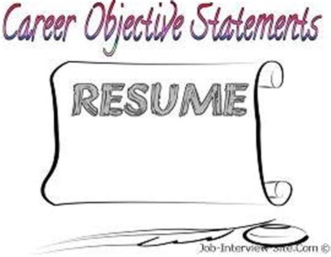 Objective in resume for finance freshers